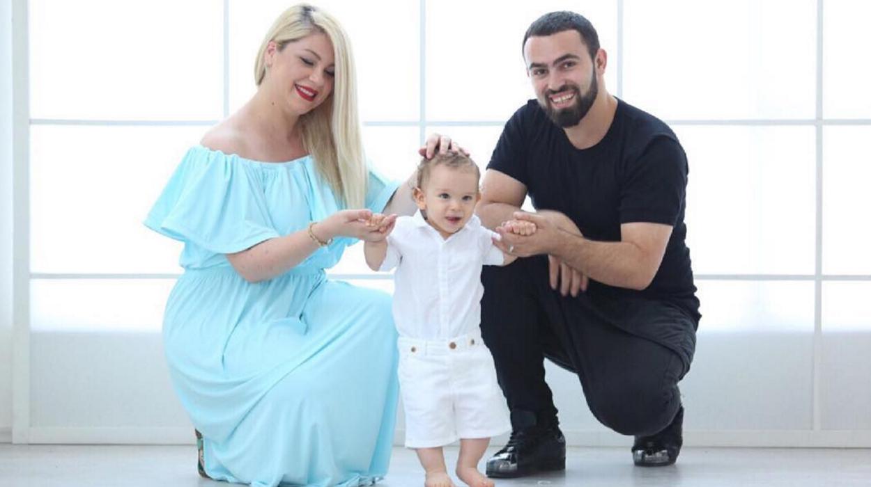 Fotoja më e bukur familjare e Silva Gunbardhit