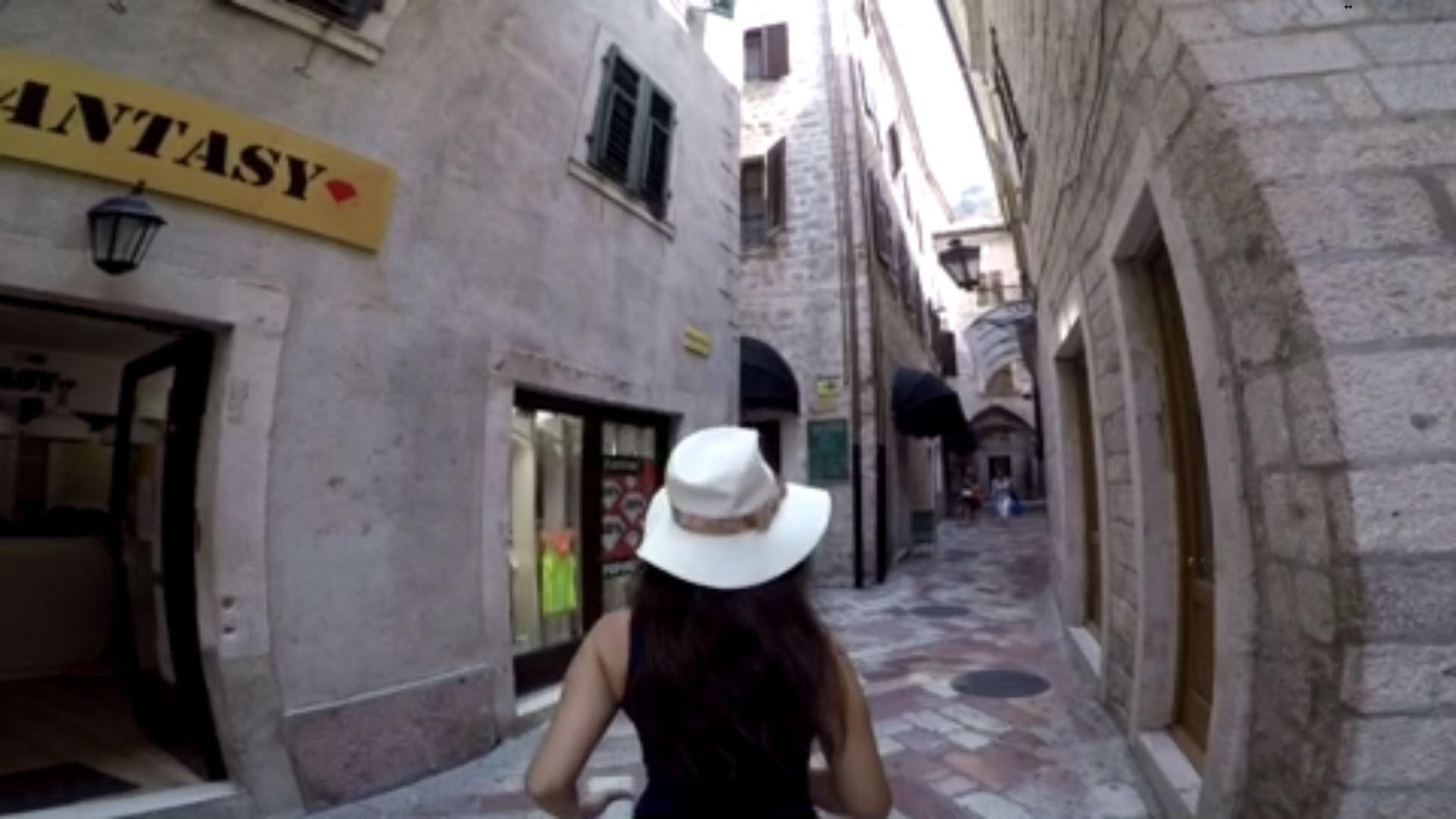 Një shëtitje në muret e fortifikuara të Kotorit
