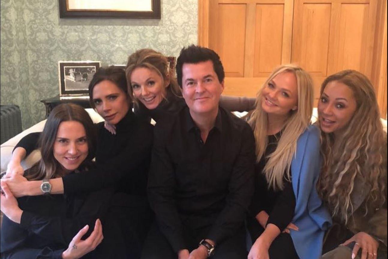 """Spice Girls e festojnë ribashkimin me të """"bardhë""""?! Bëni kujdes te foto"""