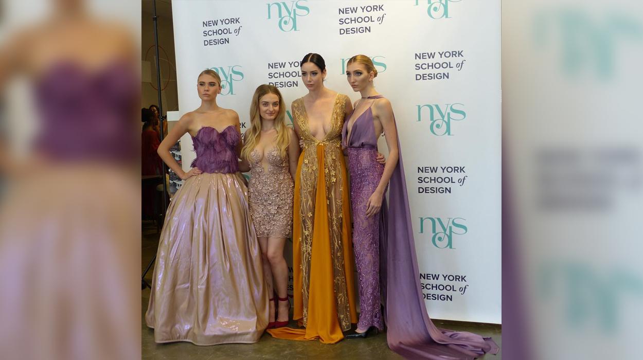 Modelet më të njohura të New Yorkut mbajnë të veshur dizajnet e shqiptares Larglinda Ilazi