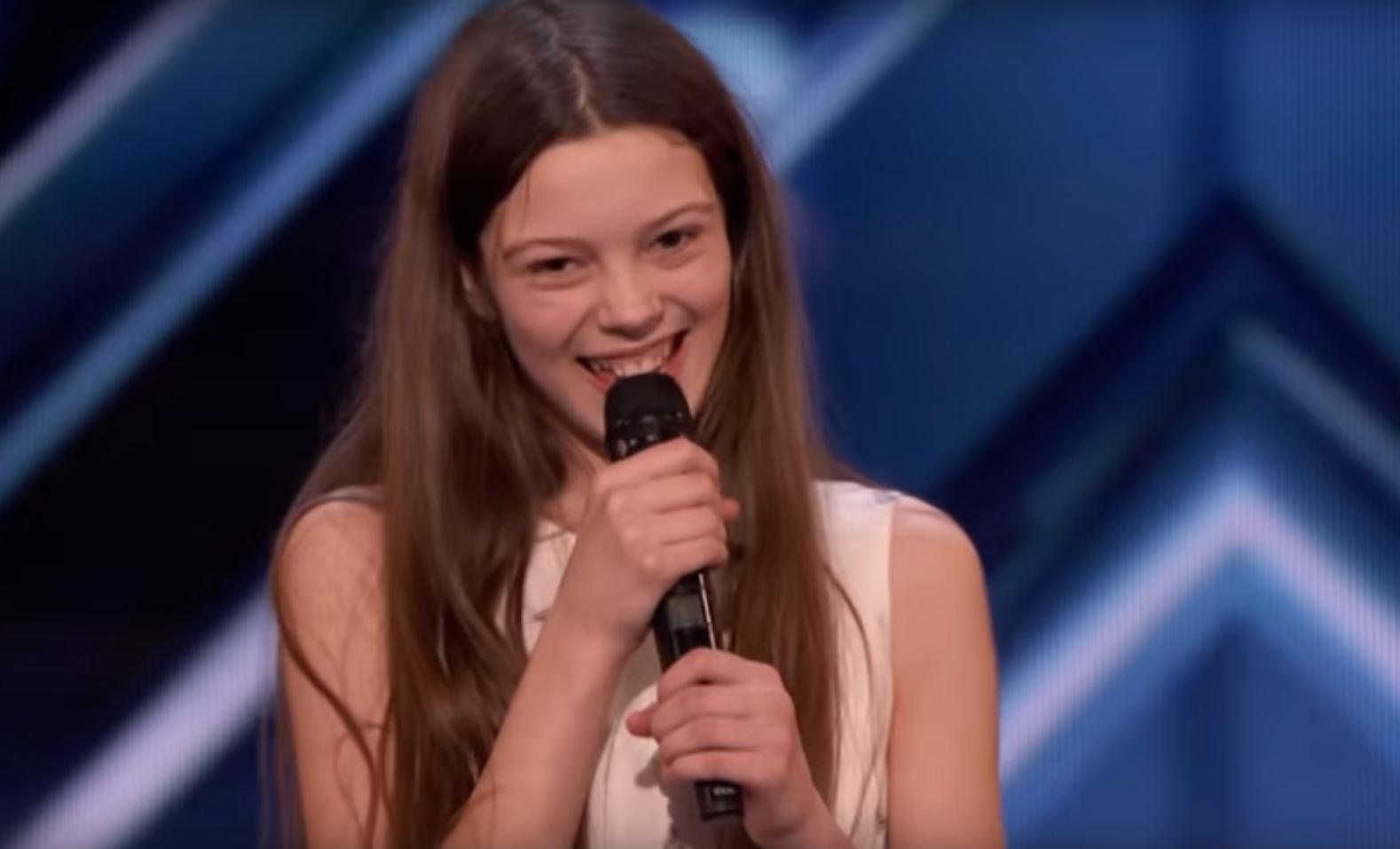 """Gjenetikisht e talentuar. 13 vjeçarja shokon publikun dhe jurinë e  """"America's Got Talent"""""""