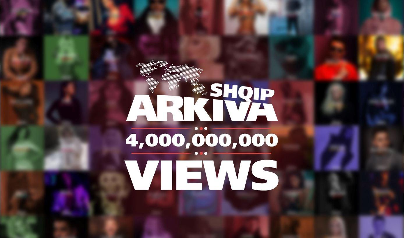 Rekord i ri i ArkivaShqip, plotë 4 miliard shikime vulosin suksesin