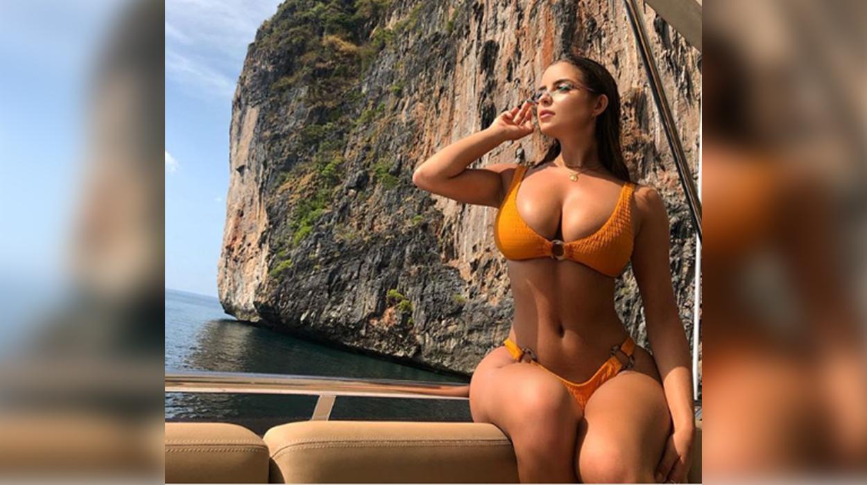 Demi Rose i vë flakën Tailandës me fotot e saj shumë provokuese