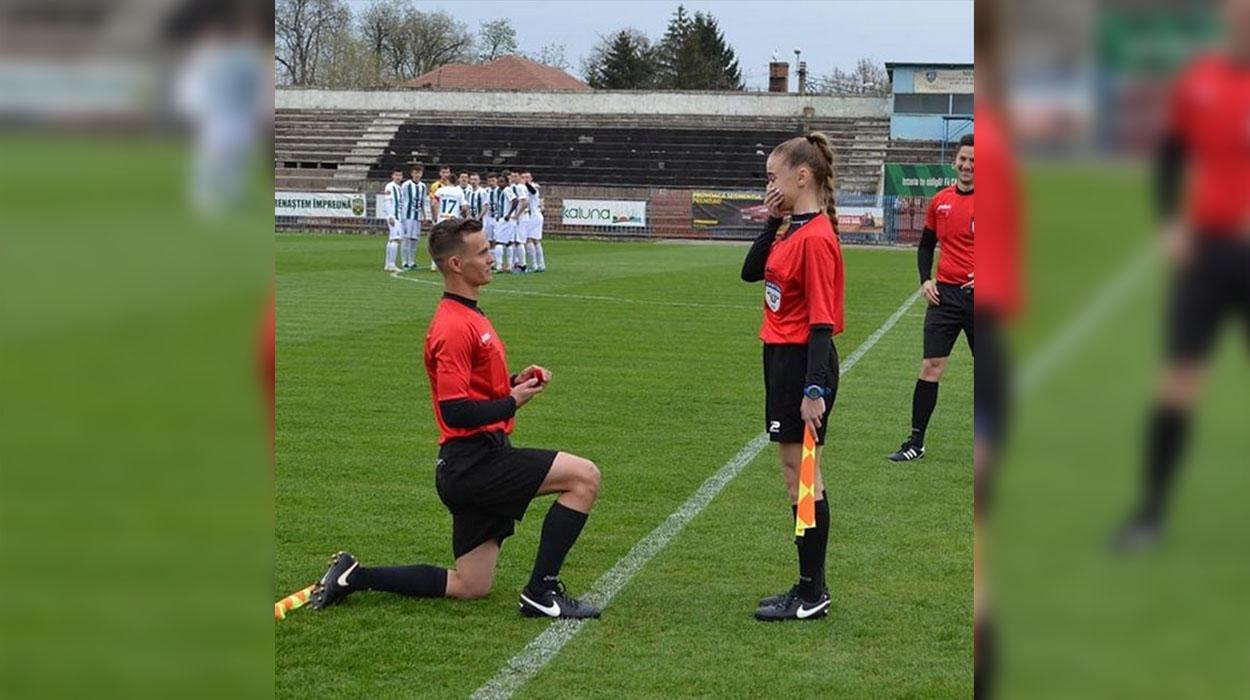 Pak para ndeshjes, arbitri anësor propozon kolegen e tij
