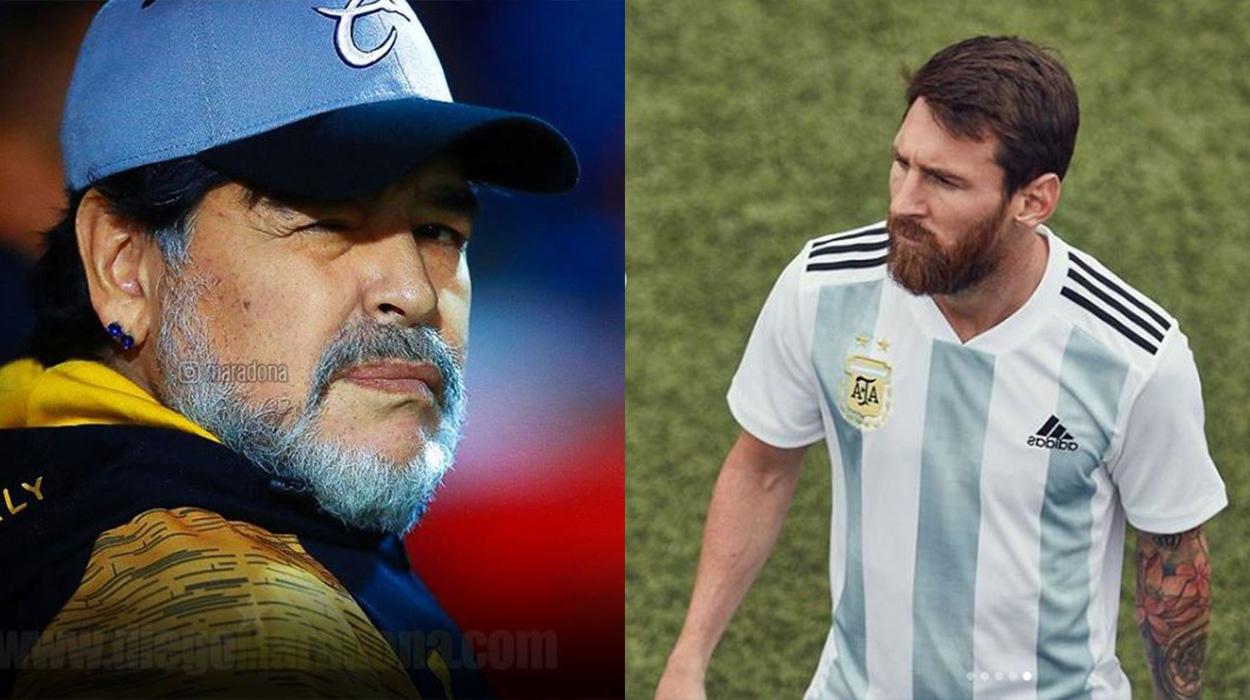 """Maradona shfryn ndaj Messit dhe skuadrës: """"Bij k*rvash, po ofendoni fanellën"""""""
