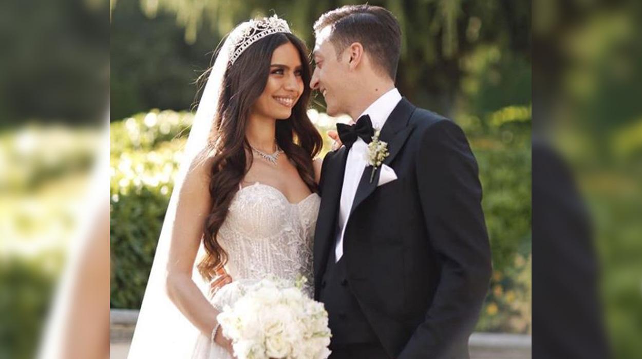 Mesut Ozil martohet me aktoren e famshme turke, Erdogan kurorëzon dashurinë e tyre