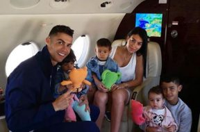 Ronaldua me avion