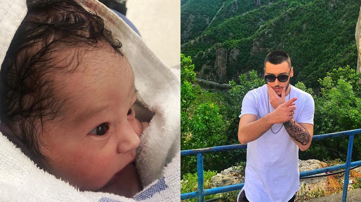 Reperi i njohur shqiptar bëhet baba për herë të parë