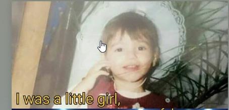Dikur një vajzë e vogël, por me ëndrra të mëdha, zbuloni kush është kjo vogëlushe