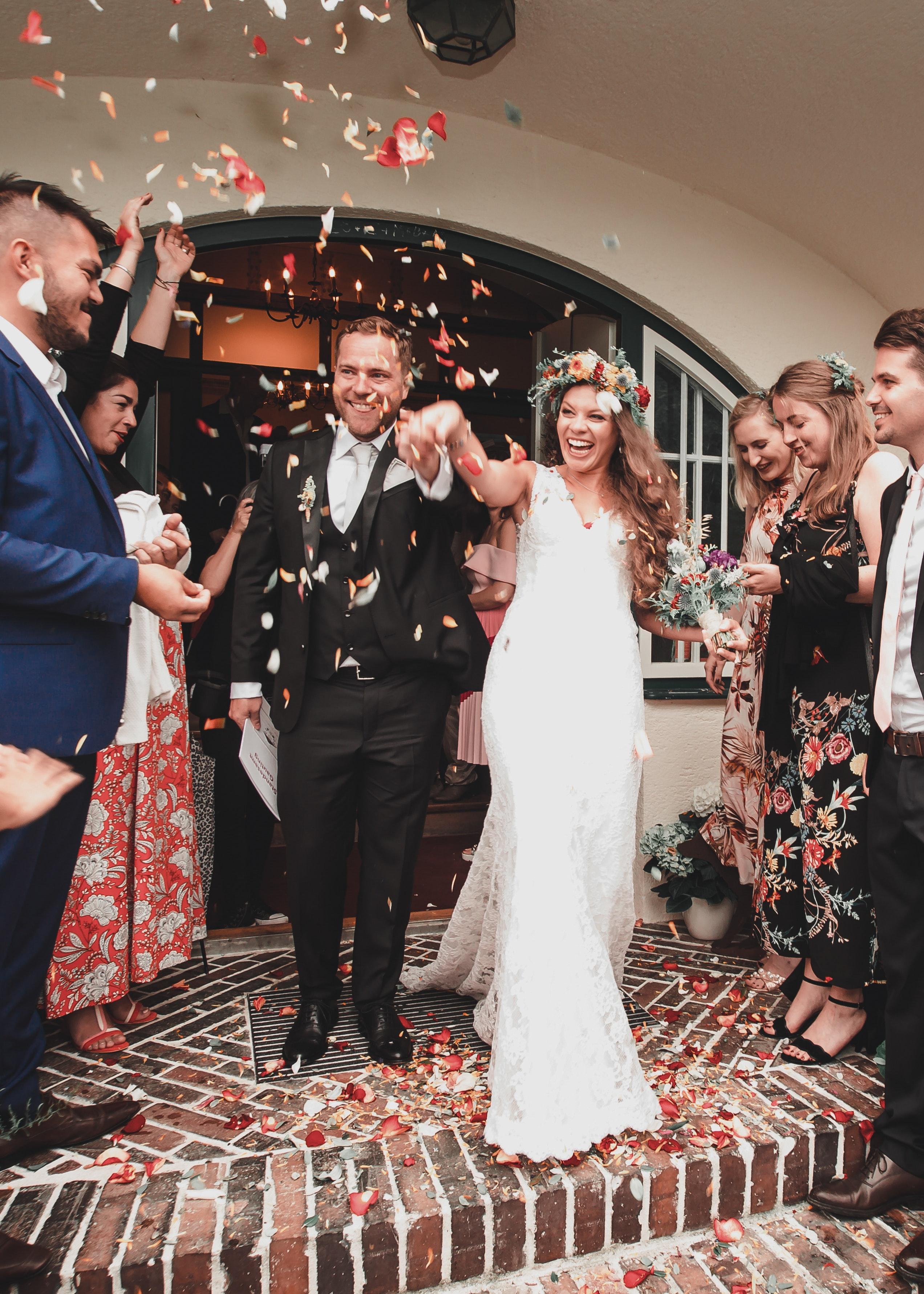 Fustan dasme me letra higjenike, shqiptarja fiton çmimin e parë në New York