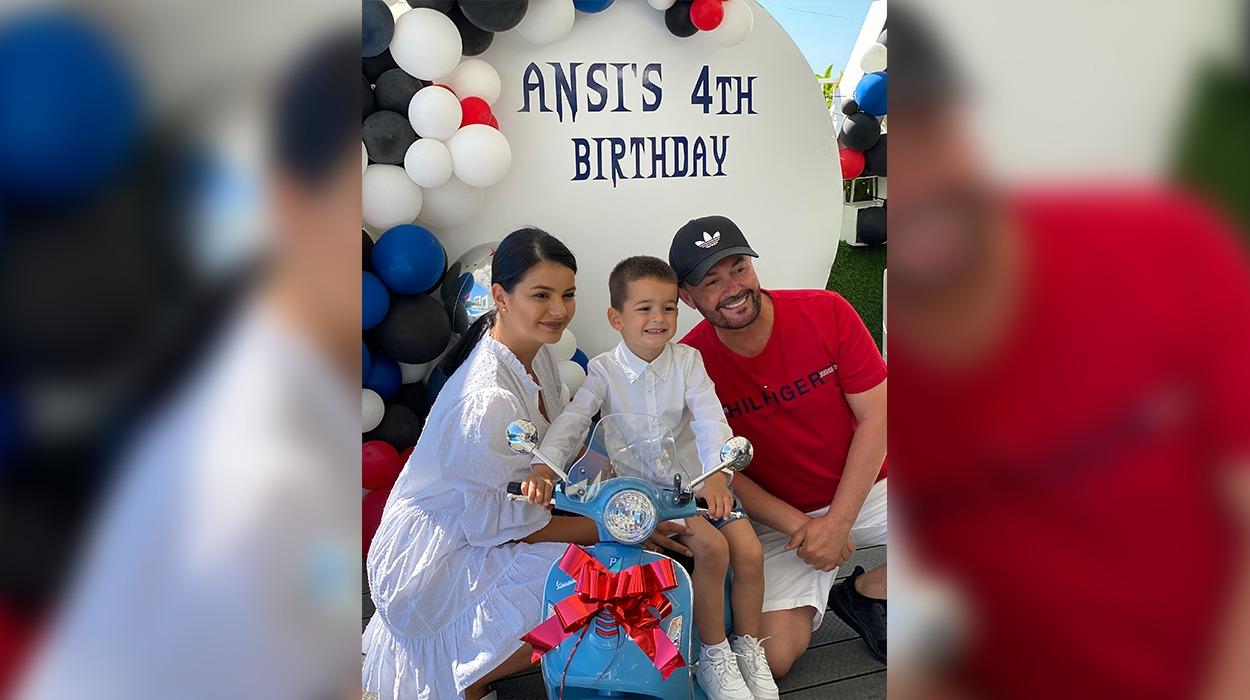 Ansi feston 4 vjetorin e lindjes, zbulohen pamjet nga festa e ditëlindjes