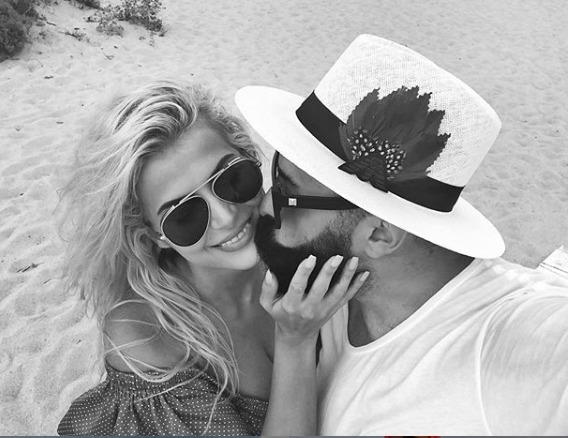 Në momente romantike me Getoarin, Marina poston videon më të bukur me këngëtarin