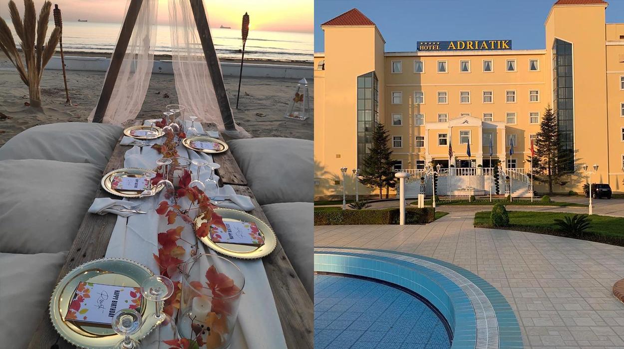 Adriatik Hotel – lider në festimet private