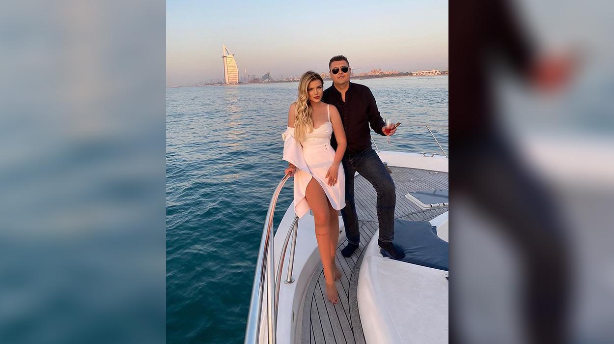 Plot dashuri nga Dubai, Rezarta dhe Ermali festojnë 16 vite së bashku
